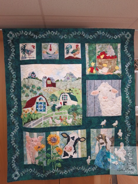 And On That Farm Rose City Quilter