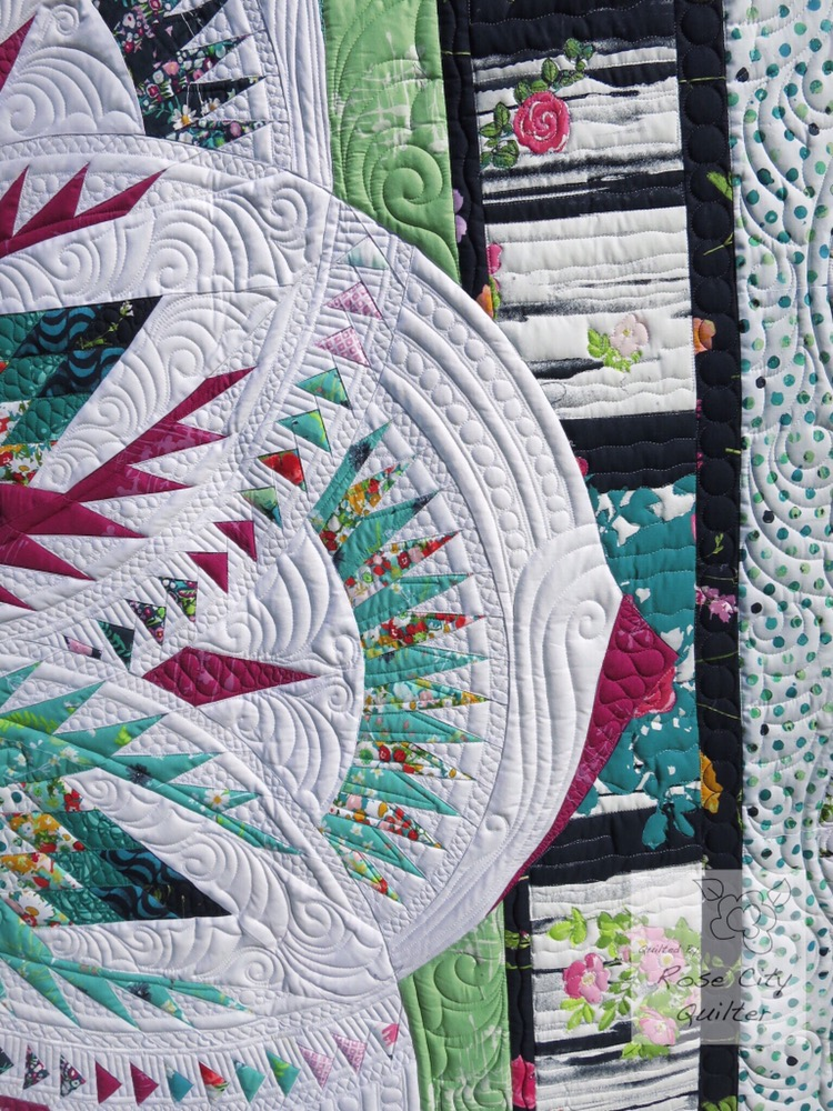 Our Vintage Rose Quilt Rose City Quilter